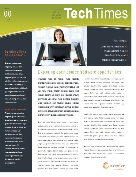 Microsoft Word Templates Newsletter Best Business Template Microsoft Office Newsletter Templates