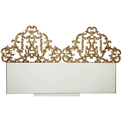 wall mounted king headboard gilt wall mounted king bed headboard for sale at 1stdibs
