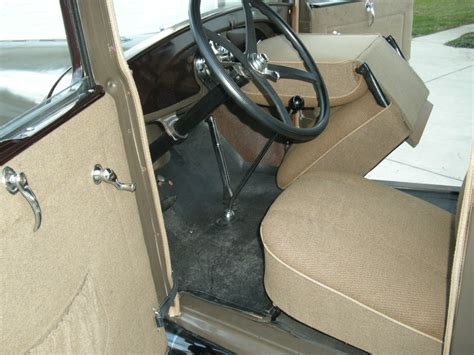 Model A Ford Upholstery by 1929 Ford Model A Interior Pictures Cargurus