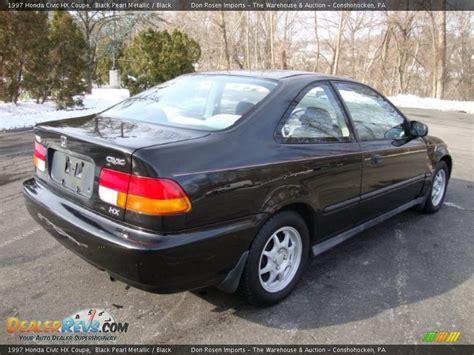 honda civic hx 1997 1997 honda civic hx coupe black pearl metallic black