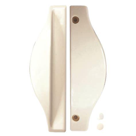 Plastic Shower Door Handles Rolltrak White Plastic Shower Screen Handle Bunnings Warehouse