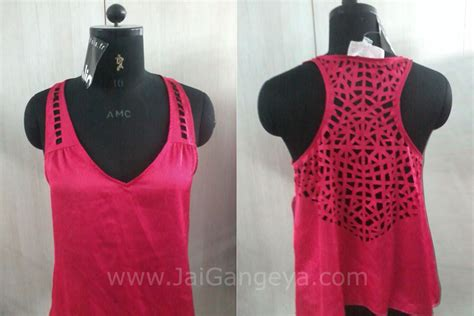 Laser Cut Garments by Laser Cut Ready Garment Jai Gangeya