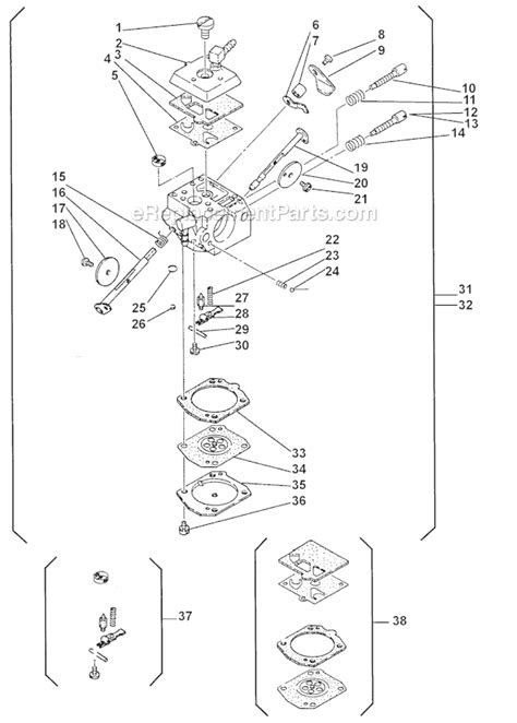 shindaiwa trimmer parts diagram shindaiwa 695 parts list and diagram ereplacementparts