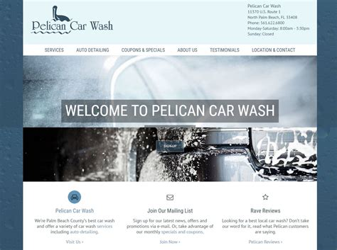 pelican car wash web gumption