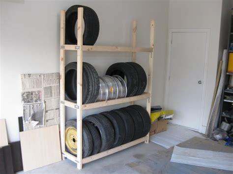 Tire Storage Rack For Garage by 25 Best Ideas About Tire Rack On Garage Shelf