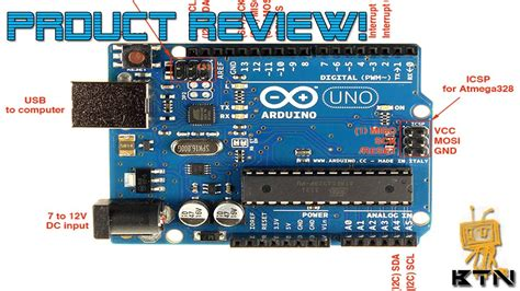 product review arduino uno rev  youtube