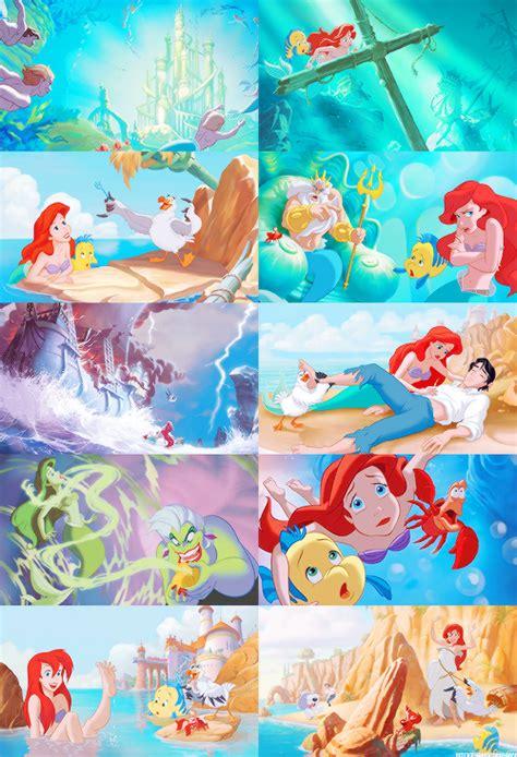 Disney Pixar My Library Hc my edits disney edits my posts the mermaid books