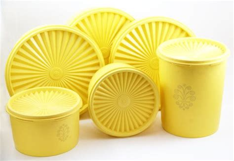 129 best yellow canisters images on pinterest vintage kitchen 222 best images about tupperware vintage harvest colors on