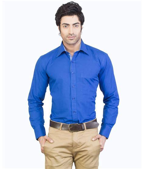Blouse 3colour Blue Vv edenelliot royal blue color jute cotton formal shirt buy edenelliot royal blue color jute