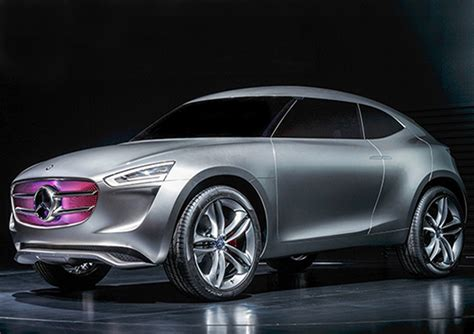 mercedes cars new new mercedes concept car is powered by its paint