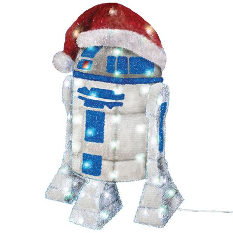 r2 d2 tinsel decoration year long yuletide