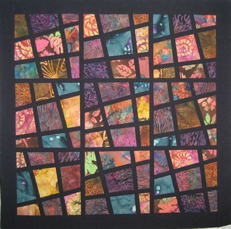 Magic Tiles Quilt Pattern by Fall Inspired Mini Quilts Quilting Gallery Quilting Gallery