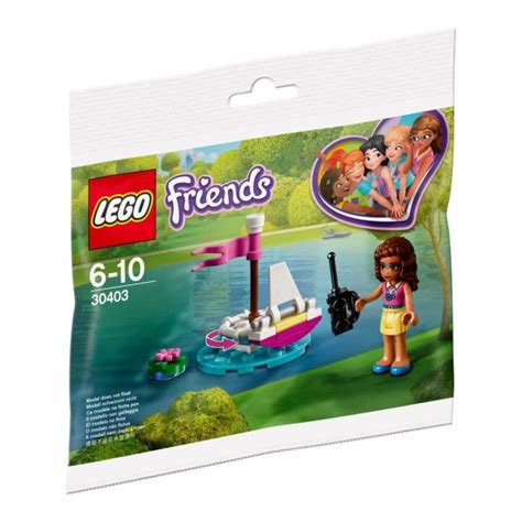 lego boat rc 30403 lego friends olivia s rc boat polybag