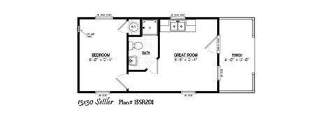 Floor Plans Of Houses 13 X 30 Including 6 Porch Tiny Talk Pinterest Porch Tiny Cabins And Tiny Houses