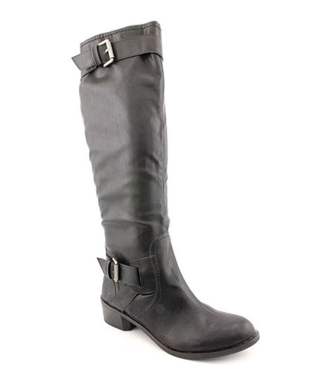 wide moto boots style co womens wide calf moto boots womens footwear