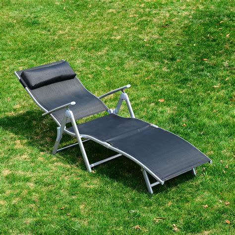 Folding Chaise Lounge Chair by Chaise Lounge Chair Folding Pool Yard Adjustable