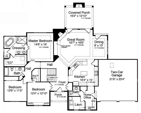 2 bedroom house plans with walkout basement house plans ranch homestartx com