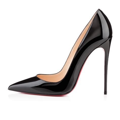 Christian Louboutin so kate 120 black patent leather shoes christian louboutin