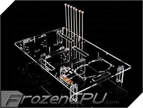 acrylic test bench qdiy professional modders acrylic micro atx atx motherboard test bench clear pc
