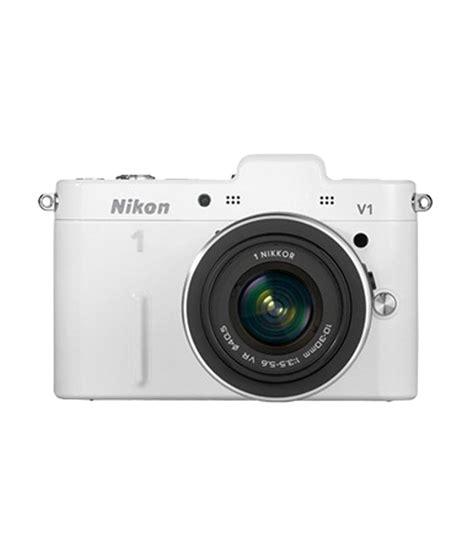 Lensa White Nikon nikon 1 v1 with 10 30mm 30 110mm lens white price in