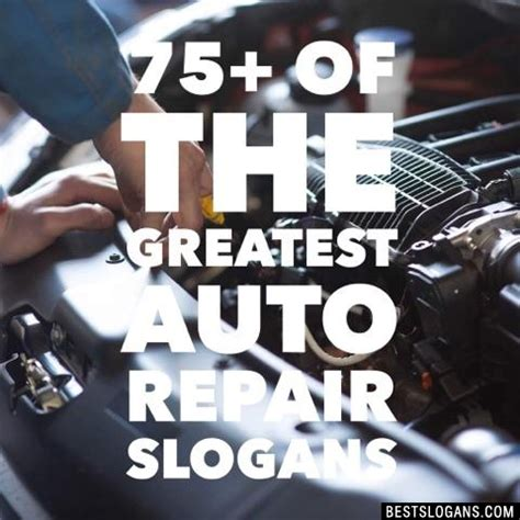 Auto Slogans by Catchy Automotive Repair Slogans Taglines Mottos