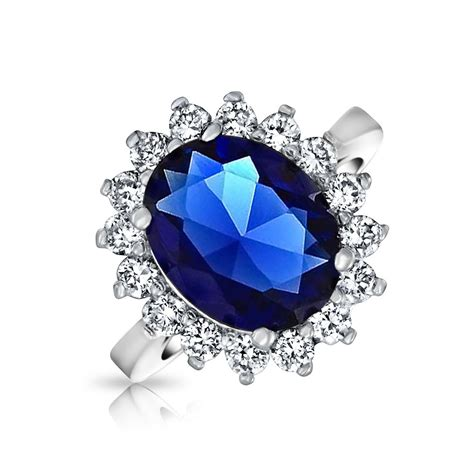 kate middleton engagement ring cz sapphire color