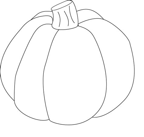 large pumpkin coloring pages free pumpkin pictures clipart best
