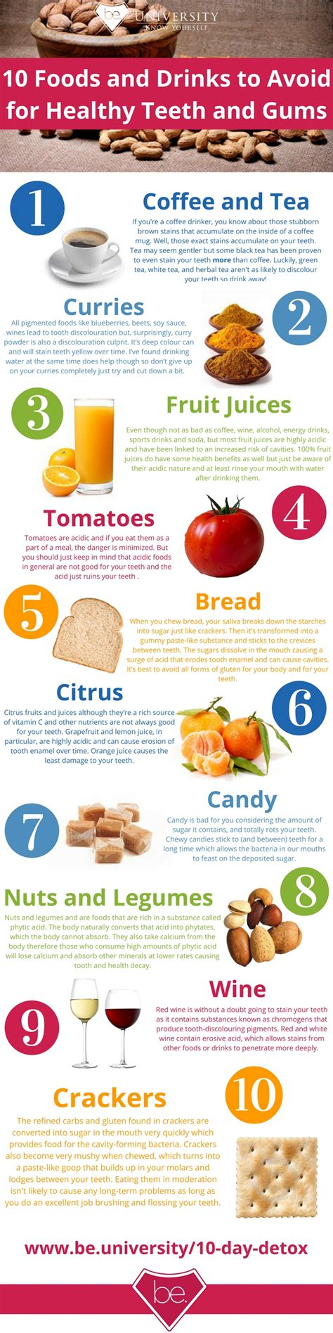 foods for 10 foods and drinks to avoid for healthy teeth and gums