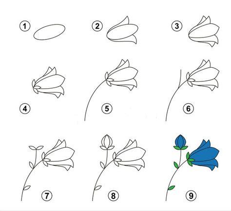 fiori per disegnare immagini di fiori facili da disegnare