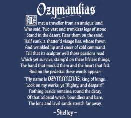 Bad Day Analysis Ozymandias Quotes Quotesgram