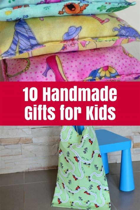 Handmade Childrens Gifts - 10 handmade gifts for the crafty mummy