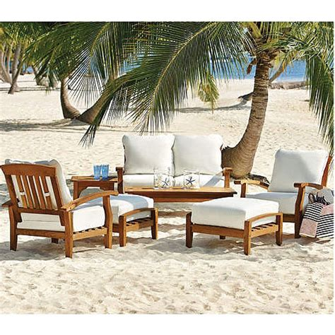 sams club teak seating replacement cushions set garden winds