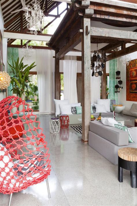 charming Room Designs For Guys #3: tropical-holiday-living-room.jpg