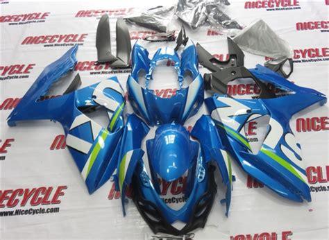 Suzuki Oem Fairings 2009 2016 Suzuki Gsxr 1000 Metallic Blue Oem Style Fairings