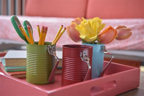 diy crafts with tin cans diy tin can crafts projects 1 hgtv