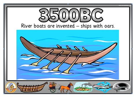 when was the boat invented river boats and ships with oars were invented history of