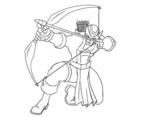 Hawkeye Coloring Pages To Download And Print For Free Hawkeye Coloring Pages