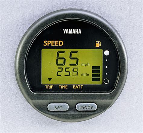wtb yamaha multi function digital speedometer fuel