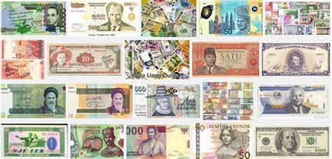 kode mata uang negara di dunia kode singkatan