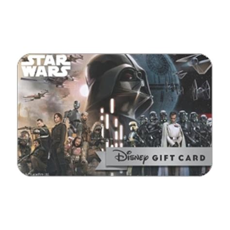Star Wars Gift Cards - your wdw store disney collectible gift card star wars rogue one