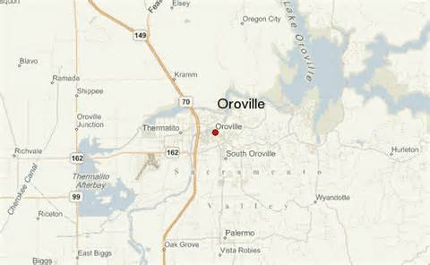 where is oroville california on a map oroville location guide