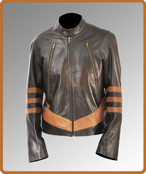 Jaket Wolverine Brown wolverine brown leather jacket x origins wolverine