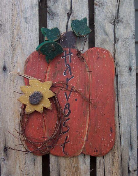 wooden craft projects harvest pumpkin wood craft pattern with by kaylaskornerdesigns