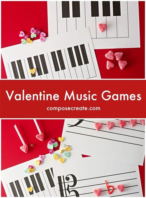 valentines song for gamers for piano lessons class