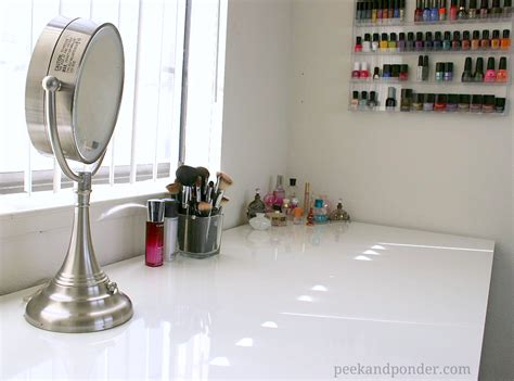 fatima magpusao diy ikea makeup vanity diy my new ikea makeup vanity diy style peek ponder