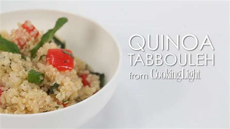 cooking light quinoa recipes quinoa tabbouleh cooking light