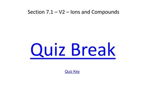 Ppt Chapter 7 Chemical Formulas And Chemical Compounds