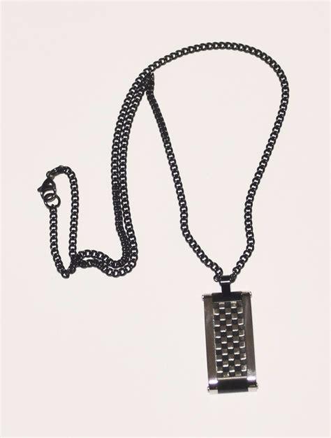 cadenas para hombre con dije cadena de acero quir 250 rgico para hombre con dije guilad
