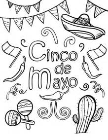cinco de mayo coloring pages printable cinco de mayo coloring page free pdf
