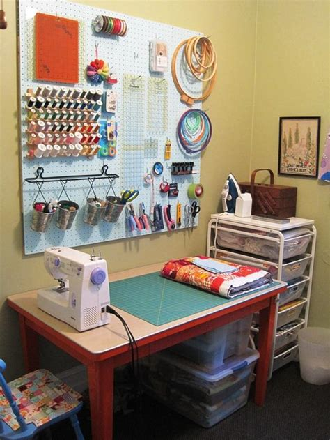 craft room setup organized sewing room ideas to inspire you sewing